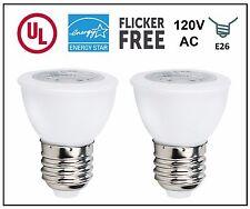 CBConcept UL-Listed PAR16 LED Bulb,2-Pack,6 Watt,550 lm,Pure White,120V,E26 Base