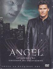 6 Dvd Box Cofanetto «ANGEL ♦ STAGIONE TRE 03» completa nuovo 2003