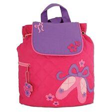NEW Quilted Ballet Backpack Girls Kids Bag Childs PinkRucksack Stephen Joseph