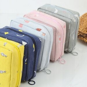 New Women Sanitary Storage Bag Pad Holders Purse Pouch Napkin Towel Credit Card