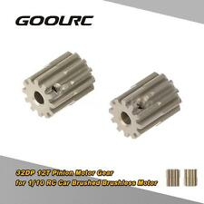 GoolRC 2Pcs 32DP 3.175mm 12T Pinion Motor Gear for 1/10 RC Car Motor T4R9
