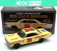 Junior Johnson 1965 Ford Galaxie University of Racing 1/24 Die Cast IN STOCK