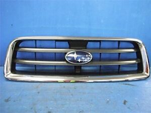 JDM 2004 Subaru Forester SG SG5 STi Front Grill Grille Chrome OEM