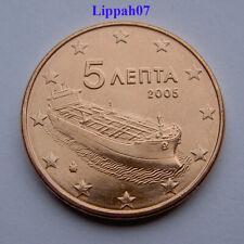 Griekenland / Greece 5 cent 2005 UNC