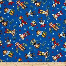 Giddy Up Cowboys 100% Cotton Fabric Timeless Treasures  FQ 50cm x 55cm