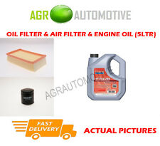 PETROL OIL AIR FILTER KIT + FS 5W40 OIL FOR RENAULT CLIO 1.2 101 BHP 2007-14