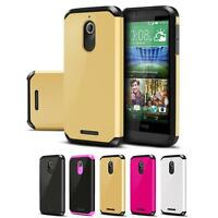 Dual Layer Impact Hybrid Armor Protective Case Cover For HTC Desire 510 / 512