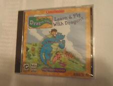 Ages 4-6 Dragon Tales Learn & Fly With Dragons Childrens Computer Software New