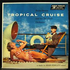 PEDRO GARCIA tropical cruise LP VG+ AFLP 1841 Vinyl 1957 Record