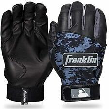 Franklin Sports Mlb Digitek Batting Gloves Gray/White/Black Digi Adult Large