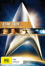 STAR TREK II (2): The Wrath Of Khan DVD The Feature Film BRAND NEW SEALED R4