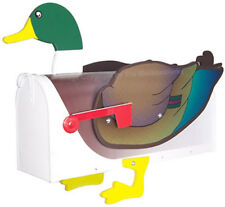 Mallard Duck Mailbox Post Mount - Handmade by More Than A Mailbox