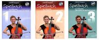 Spielbuch zur Celloschule - Band 1, 2 oder 3 - mit CD