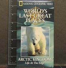 National Geographic Video Arctic Kingdom Life Edge WORLD'S LAST GREAT PLACES VHS