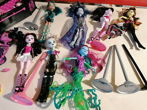 Monster High Puppen dolls vintage Konvolut lot