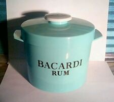 Retro Bacardi Rum Ice Bucket by Insulex.