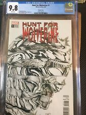 Hunt for Wolverine #1 CGC 9.8 Steve McNiven Sketch Cover 1:50 Variant Edition