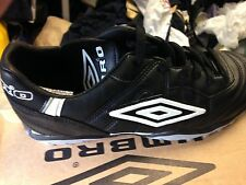 UMBRO SPECIALI  footbal trainerst MAN MADEleather size 1 2 3 4 5 OR 5. uk at £10