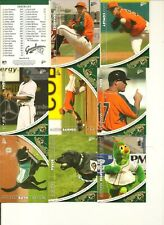 2012 Greensboro Grasshoppers Complete RETAIL Set - Fernandez FC