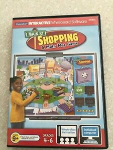 Lakeshore Learning Interactive Whiteboard PC Software CD SHOPPING game