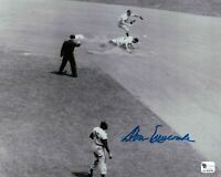 Don Newcombe Signed 8X10 Photo Autograph Dodgers Play at 2nd Auto GAI COA