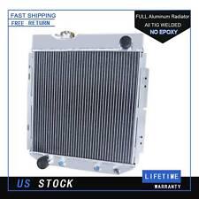 3 Row Aluminum Radiator For 64-66 65 Ford MUSTANG/FALCON/Ranchero V8 Conversion