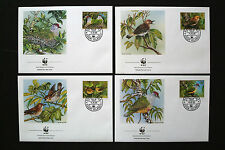 COOK ISLANDS WWF ENDANGERED BIRDS COVERS