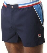 Fila Vintage 'Iconos 80s Casual Azul Marino Retro Pantalones Tenis -