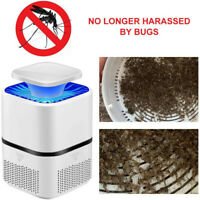 Electric Fly Bug Zapper Mosquito Insect LED Light Trap Lamp Pest Control