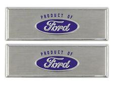 New 1968-71 Torino Step Plate Labels Door Sill Trim Fairlane Ranchero Ford