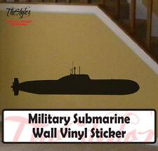 Military Submarine Wall Vinyl Sticker