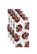 American Bald Eagle White Napkins 1 Dozen