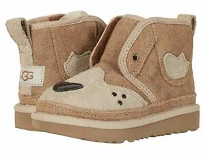 NEW UGG BOOTS TODDLER HAPPEE NEUMEL II CHESTNUT 1103626T ORIGINAL