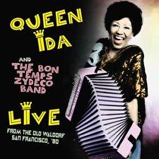 Queen Ida & Bon Temps Zydeco Band - Live: Old Waldorf, San Francisco, '80 CD NEW