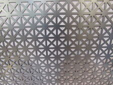 "QUALITY PERFORATED DECORATIVE METAL---GRECIAN PATTERN 12"" X 24"""