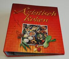 Aziatisch koken - Map boordevol aziatische recepten - Zo goed als NIEUW!