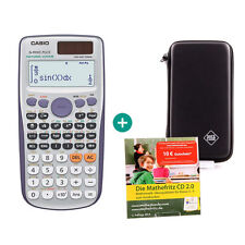 Casio fx 991 es plus calculadora + funda protectora y mathefritz aprender CD