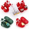 Newborn Infant Baby Boys Girls Christmas Shoes Footwear Crib Warm Winter Bootie
