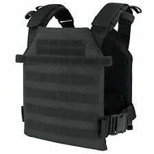 Condor 201042 Black Tactical MOLLE Sentry Lightweight Plate Carrier Vest Rig