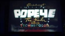 """16mm POPEYE Stunning Kodachrome color """"LUNCH WITH A PUNCH""""Theatrical-Watch Video"""