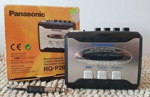 PANASONIC RQ-P265 XBS 3D EQUALIZER Walkman Cassette player, Genuine 1999