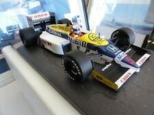 f1 MINICHAMPS 1:18 Williams Honda FW11 1986 Nigel Mansell  GP Model Car