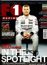 F1 RACING MAGAZINE September 2002 Coulthard Button Mansell Montoya Schumacher