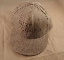 fc14605f6a4 Surf Nosara Costa Rica Resort Gray Snapback Hat Otto Logo