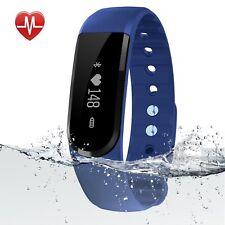 Fitness Tracker, egiant Impermeable Bluetooth HRM inteligente pulseras