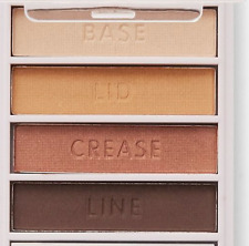Golden Goddess 21622 Natural or Bold Look! ELF Flawless Eyeshadow Palette Quad