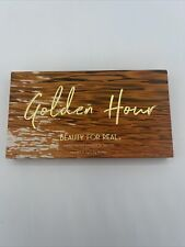BEAUTY FOR REAL Golden Hour Mango Butter 8 Color Eyeshadow Palette NIB