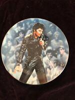 Elvis Presley Bradford Exchange Plate 68 Comeback Special 1st Issue Plate#12378I