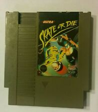 Skate or Die NES (Nintendo Entertainment System) Tested & Working