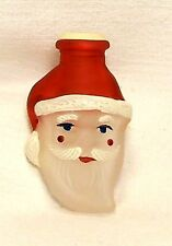 Cute~2001 Old World CHRISTmas~Small Santa Face~Blown Glass Light Cover~Taiwan